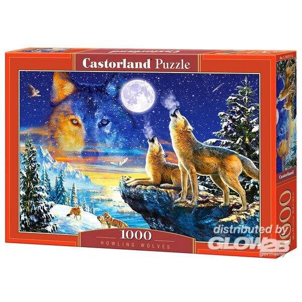 Huilende wolven Puzzel 1000 Stuks