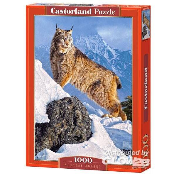 Lynx in de bergen Puzzel 1000 Stuks