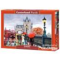 Puzzel Tower Bridge, Puzzle 1500 onderdelen Castorland C-151455-2