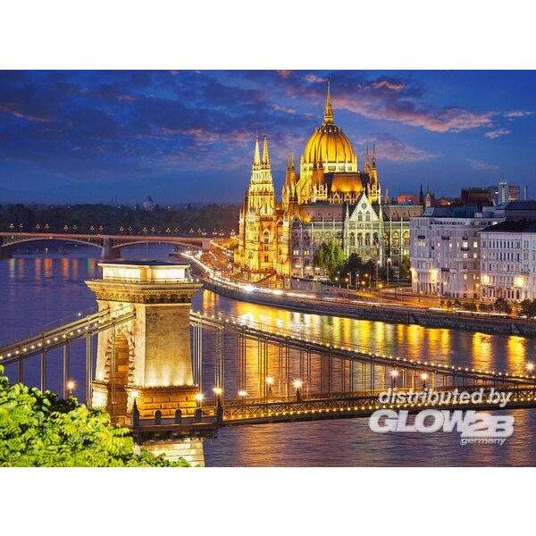 Budapest in de schemering Puzzel 2000 Stuks