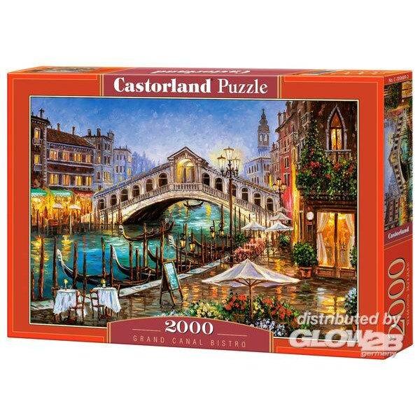 Grand Canal Bistro, Venetië Puzzel 2000 Stuks