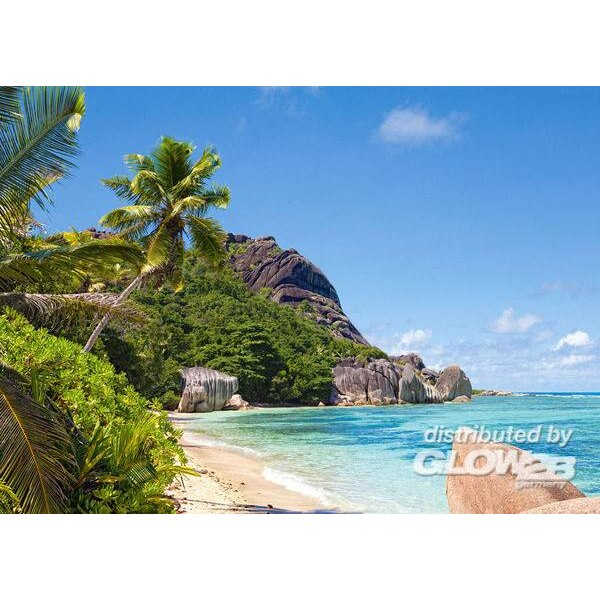 Tropisch strand, Seychellen Puzzel 3000 Stuks