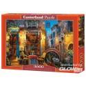 Puzzel Onze speciale plaats i.Venice, Puzzle 3000Tl Castorland C-300426-2