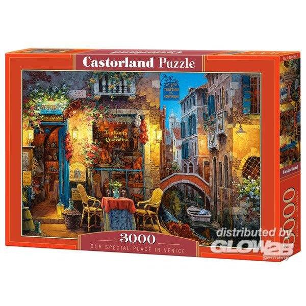 Ons geheime hoekje in Venetië Puzzel 3000 Stuks