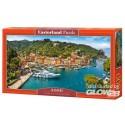 Puzzel Uitzicht op Portofino, puzzel 4000 delen Castorland C-400201-2