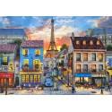 Puzzel Straten van Parijs, puzzel 500 stuks Castorland B-52684