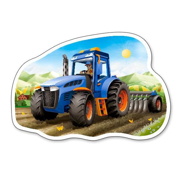 Tractor aan het werk Puzzel 15 Stuks