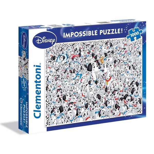 101 Dalmatiërs Puzzel 1000 Stuks