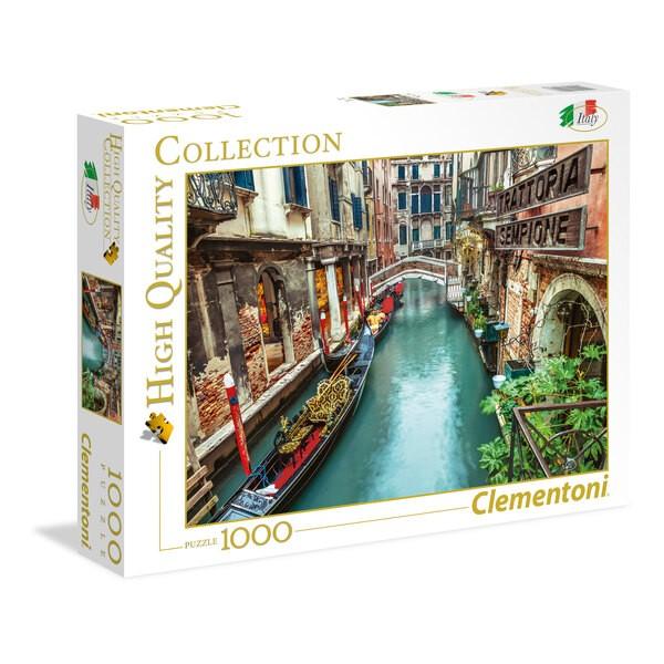 Kanaal in Venetië Puzzel 1000 Stuks