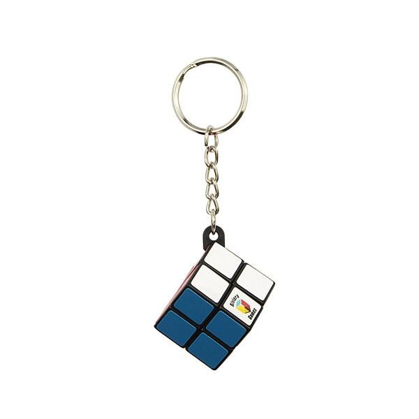 Eenvoudige kubus sleutelhanger - eenvoudige clip