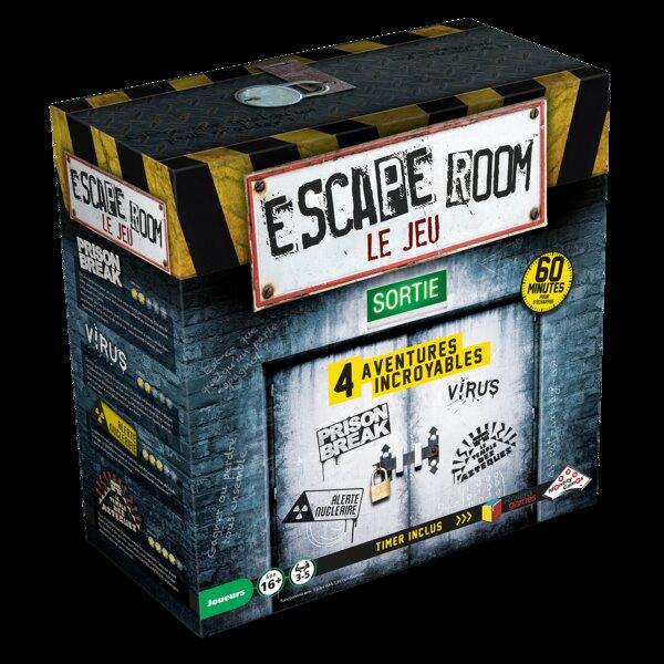 Escape-games - set van 4 spellen