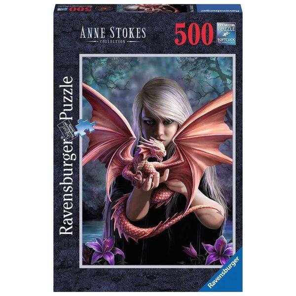 Het drakenmeisje Puzzel 500 Stuks