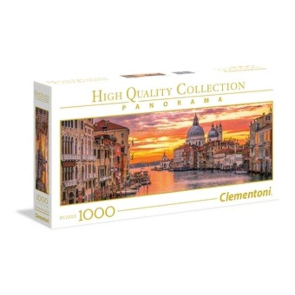 Panorama - Canal Grande - Venetië Puzzel 1000 Stuks